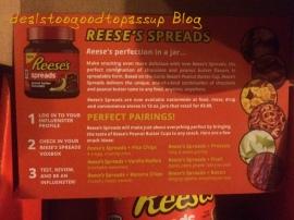 Influenster Reeses 1