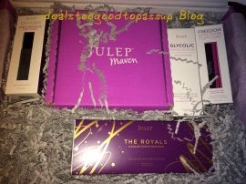 Julep January 2015 Big Box