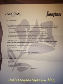Lancome CILS Gift