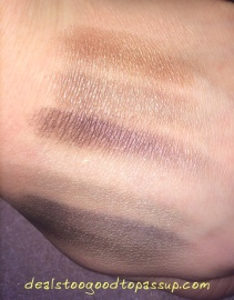 NARS Dual Intensity Swatches with Flash