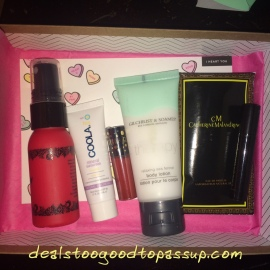 Her First Box Arrived A Bit Before Birthday It Looked Like An Awesome I Had Wanted To Try That Beauty Protector Leave In Conditioner For Long