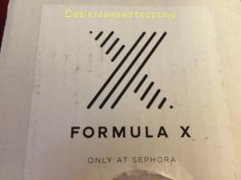 Formula X 3