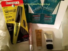 Walmart Spring 2015 Beauty Box