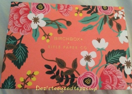 Birchbox April 2015 Rifle Paper