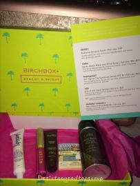 Birchbox July 2015 Box 1