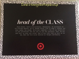 Head of the Class Card
