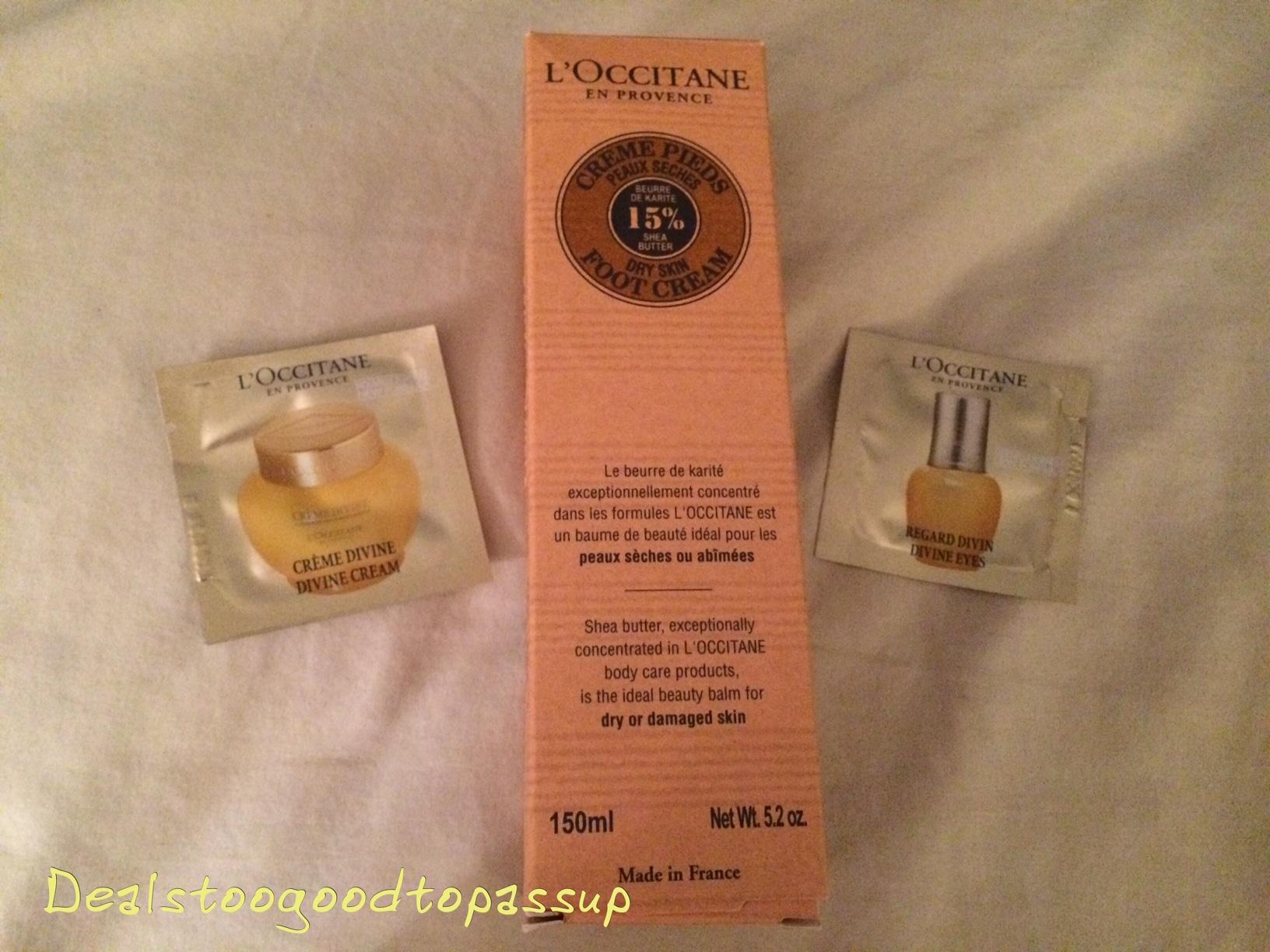 Beauty Birthday Offer LOccitane