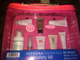 Sephora Sun Safety Kit 2015 2