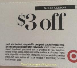 Target Beauty Box coupon