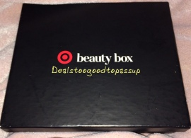 Target Beauty Box Summer 2015 4