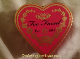 Too Faced SweetHeart Blush Something About Berry