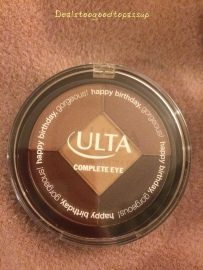 Ulta Birthday Present 2015