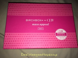 Birchbox CEW Mass Appeal 2