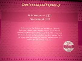 Birchbox CEW Mass Appeal 4