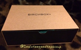 Birchbox Man October 2015