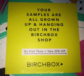 Birchbox September 2015 3