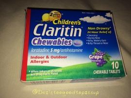 BzzAgent Claritin 6