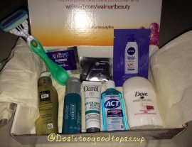 Wal-Mart Beauty Box Fall 2015 5