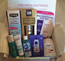 Wal-Mart Beauty Box Fall 2015