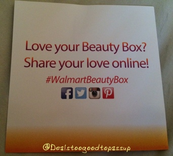 Walmart Beauty Box Fall 2015 8