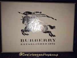 Burberry Mini Beauty Box 6