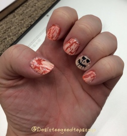 Halloween Nails 3