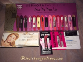 Sephora Favorites Give Me More Lip 2015