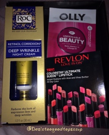 Target Beauty Box October 2015