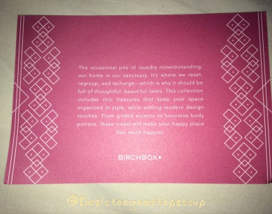 Birchbox The Charmed Life 3