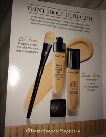 Lancome Foundation Sample 2