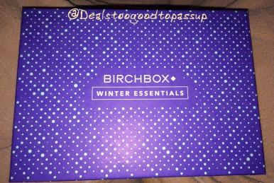 Birchbox December 2015