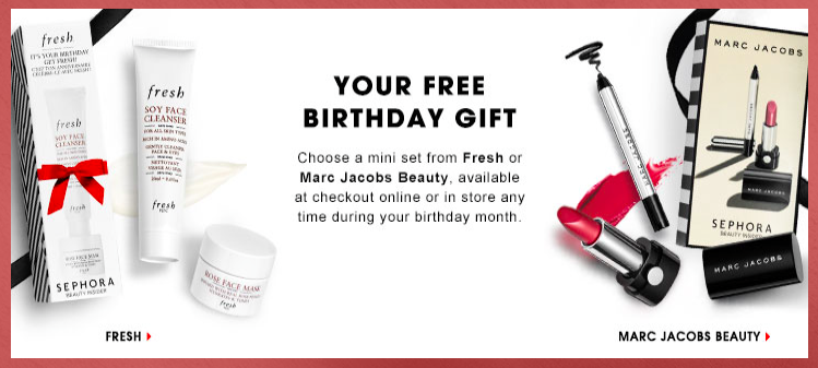 Sephora 2016 Free Birthday Gifts and the Rouge Qualification Free ...