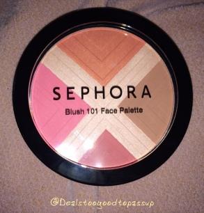 Sephora Blush Palette 9