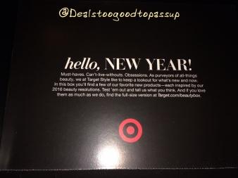 Target Beauty Box Renewal 5