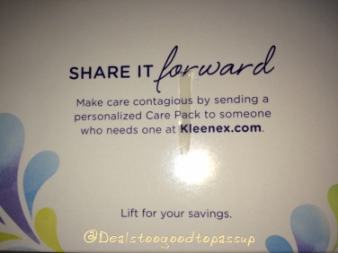 Kleenex Free Sample 3