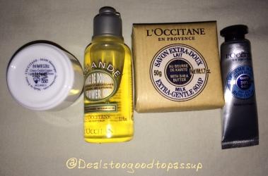 L'Occitane Free Gift 3