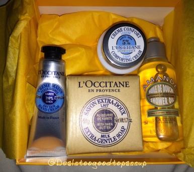 L'Occitane Free Gift