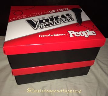 The Voice Limited Edition Gift Box