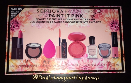 Sephora Favorites Paint It Pink