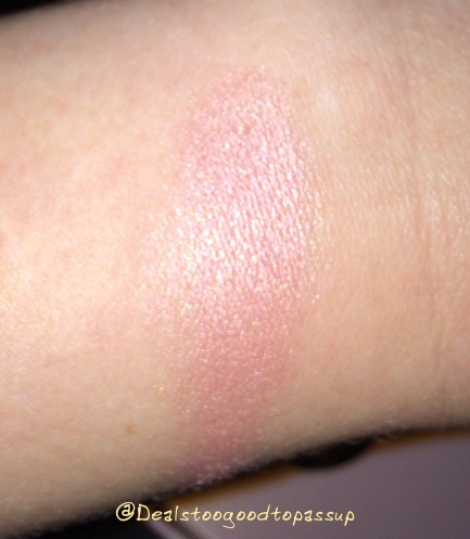 Urban Decay pink shadow