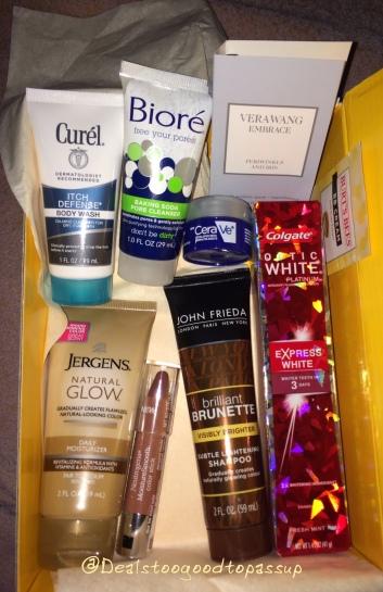 Walmart Beauty Box Spring 2016 2