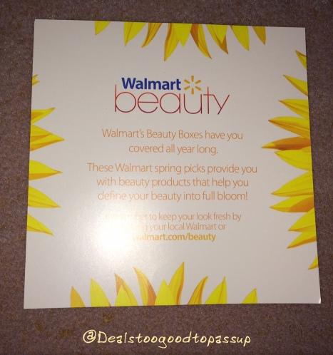 WalMart Beauty Box Spring 2016 4
