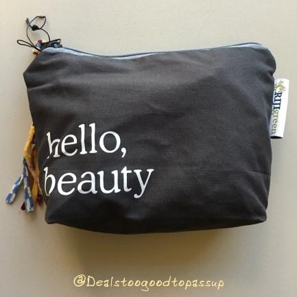 Whole Foods Hello Beauty Bag