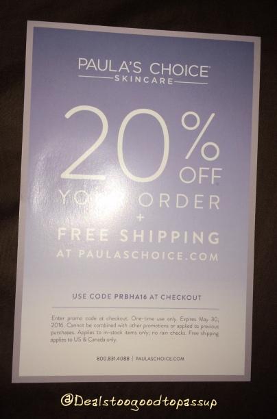 BzzAgent Campaign Paula's Choice Skin Perfecting 2% BHA Liquid 3