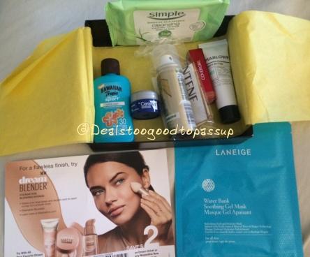 Target Beauty Box April 2016