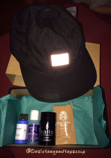 Birchbox Man May 2016
