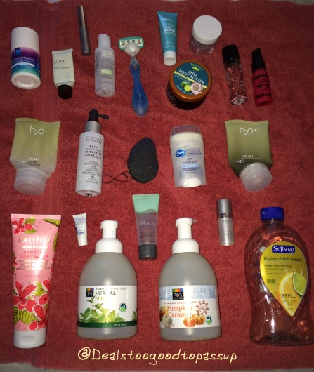 Empties April 2016