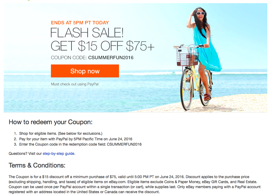 eBay Flash Sale for Discount Sephora and Ulta Gift Cards