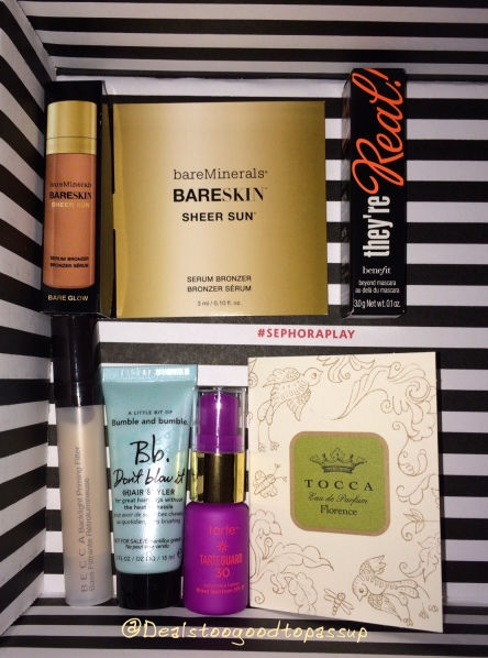 Sephora Play June 2016 6