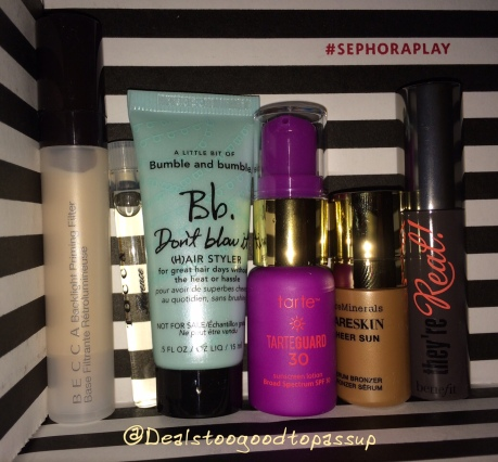 Sephora Play June 2016 7